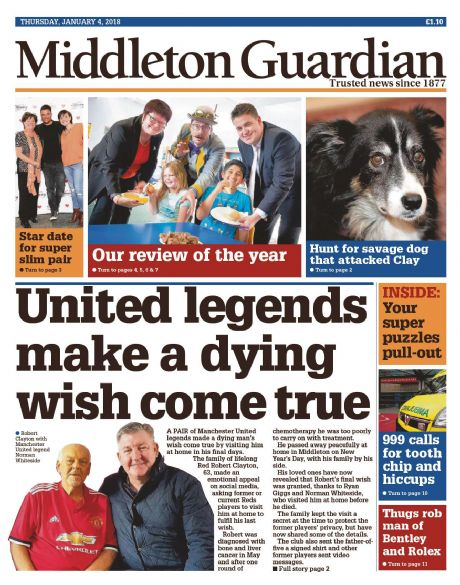 Middleton Guardian Subscription